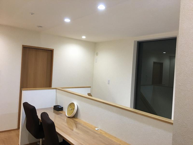 2階廊下_勉強スペース