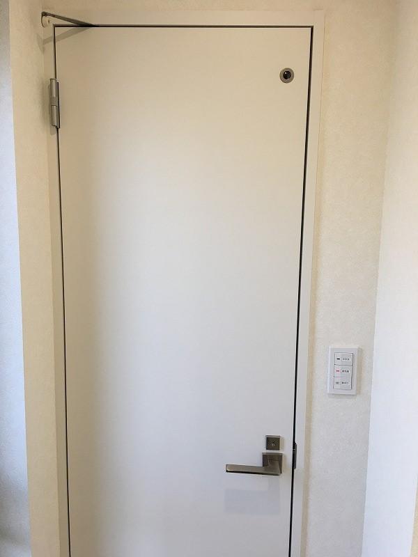 トイレ用片開戸