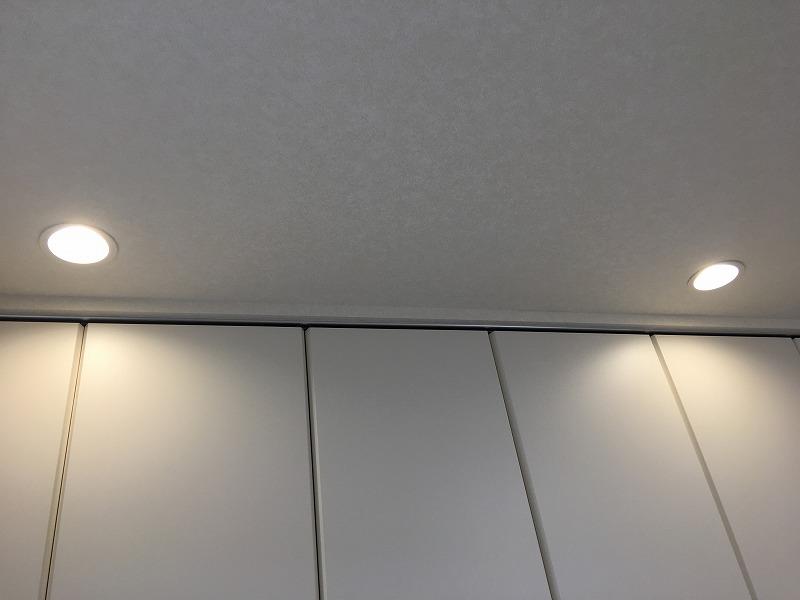 寝室_ダウンライト