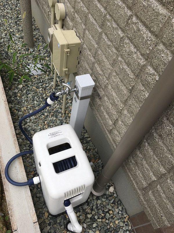 コン柱付散水栓