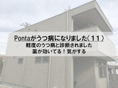 Pontaがうつ病になりました(11)