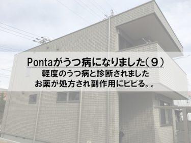 Pontaがうつ病になりました(9)